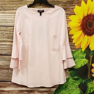 Isabella Oliver Maternity pink pullover blouse 👚